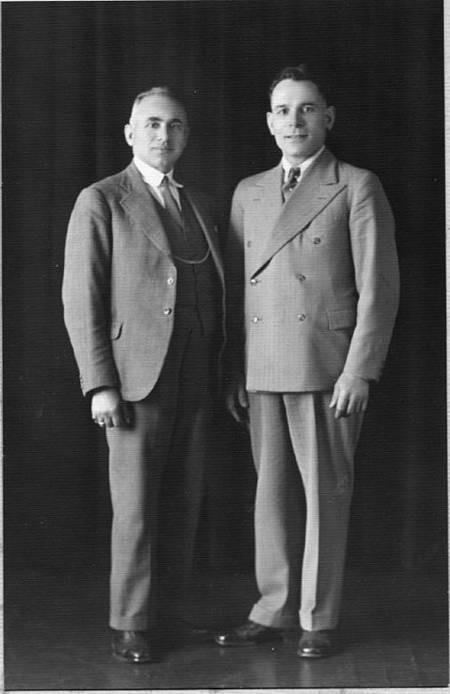 George Levoune & Theo Nikolasou