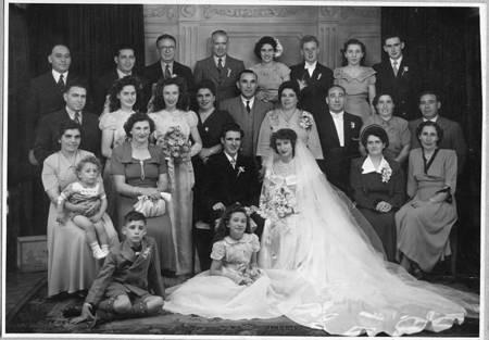 George Poulos & Helen Comino Wedding