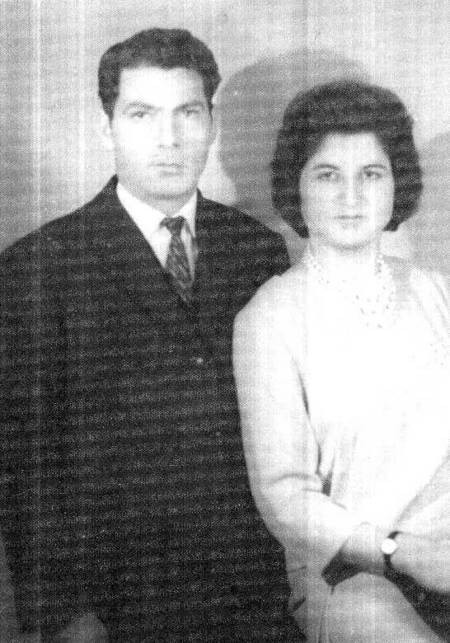 Sofia Katsouli on her wedding day