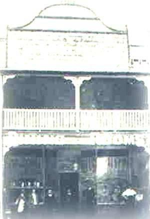 Bellingen, NSW - Store owned by Kytherian Michael Katsoulas, 1916.