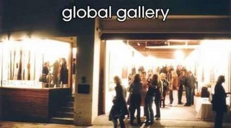Global Gallery, Paddington, NSW, Australia - site of Panagiotis Protopsaltis exhibition, 3 June - 13 June, 2004