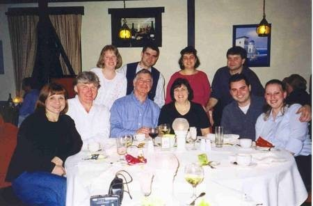 Professor Harry, and Maria (nee, Langley) Poulos's extended family.