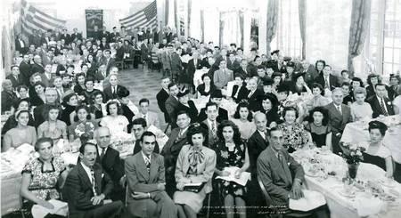 Kythera Celebration Dinner New York USA Sept 29 1946