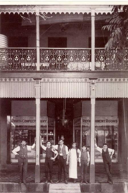 Marble Bar Cafe, Prince Street, Grafton. (c.1912).