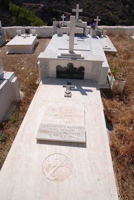 Family Plot  IOANNOU D.MARGETI Kapsali Cemetery