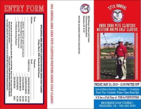 2010 AHEPA Golf Tournament Brochure- OS