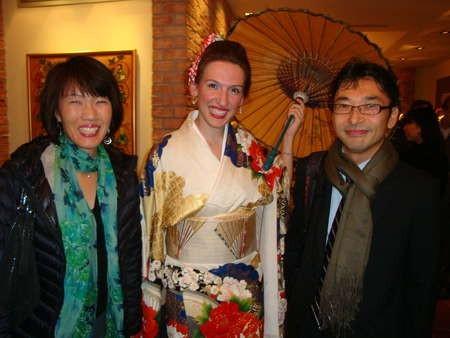 Myrto Dimitriou  Mr. Bon Koizumi and his wife