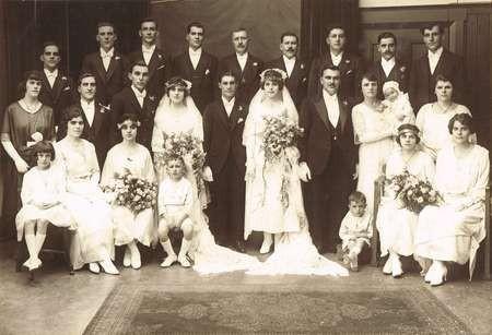 Wedding of Peter Crithary to Irene Cretan, and Nick Psaltis to Louisa Crithary