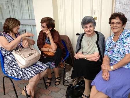 Metty Cassimattis, Helen Sakiris, Politimi Tzannes and Koula Cassimattis