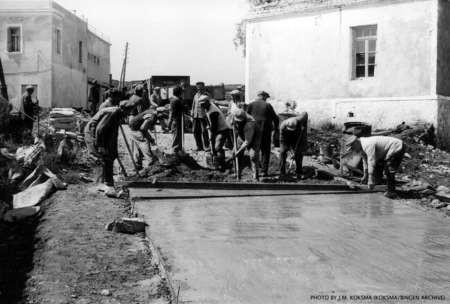 J.M. Koksma: Roadworks, Leivadi, 1966
