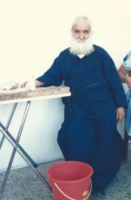 Father Efthimio Calligeros - 1986