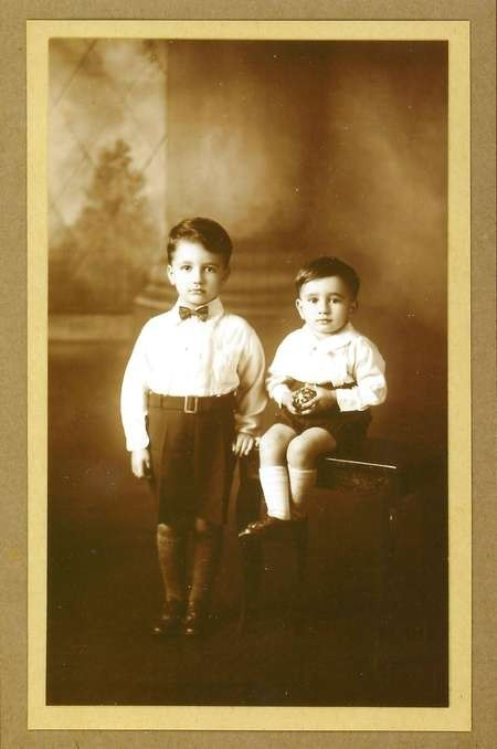 Stephen & Arthur Zantiotis about 1932