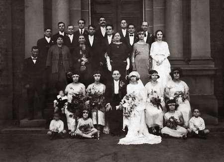 Mystery Wedding c. 1923