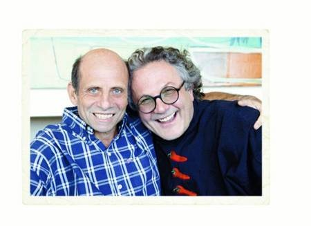George Miller and Michael Jonson.  Two Of Us - George M & M J NOW2GIF