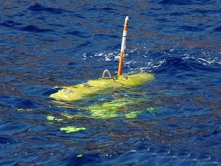 The underwater robot employed by the return to Antikythera Project - Robot used to explore the Antikythera mechanism