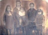 Theodore P. Panaretos Children in Smyrna 1909