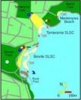 Bronte Beach - Map
