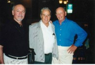 Three class mates 54 years  later