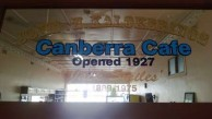 The Canberra Cafe Panel, which forms the centrepiece