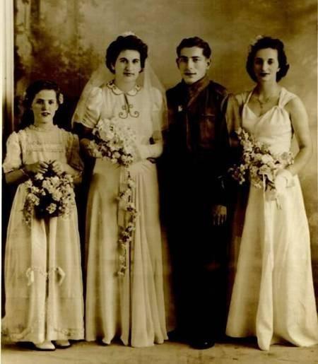 Pentopoulos Wedding Portrait in 1942