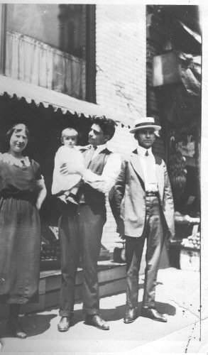 Uncle Theodore Gavrilys with Mr. and Mrs Georgopoulos