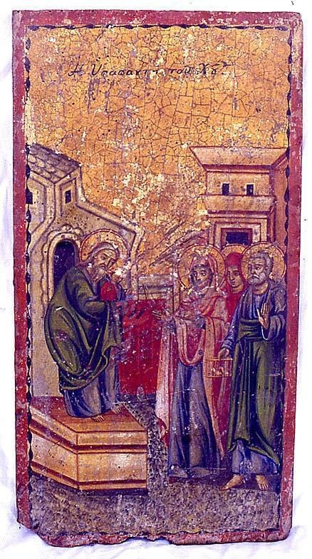 Icon 8 before restoration