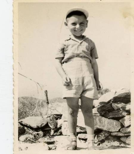 "At Agia Marina ""Stavli"" 1961"