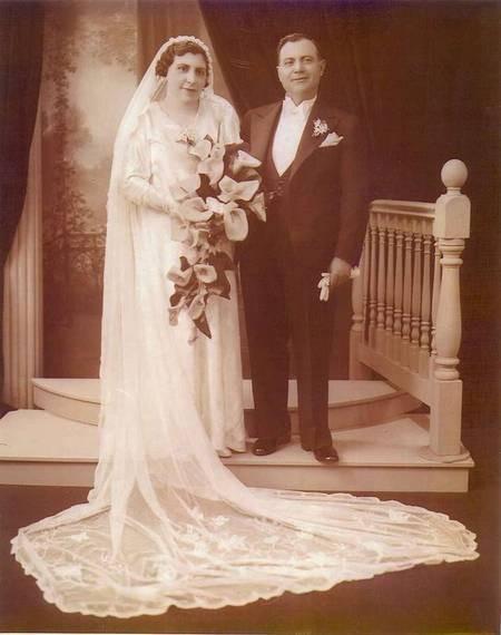 Jim and Penelope Castrisos - wedding photograph.