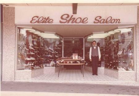Manuel Casimatis' Shoe Store 1971