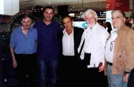 Professor Nikos Petrochilos, with friends.