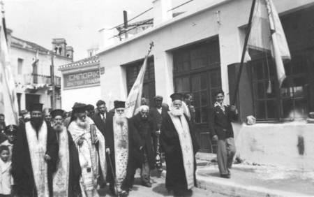 Religious procession in Potamos