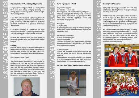 New South Wales Academy of Gymnastics