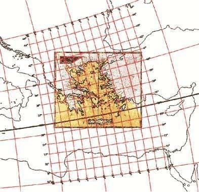 Map 9. Assigning map projections to portolan maps.