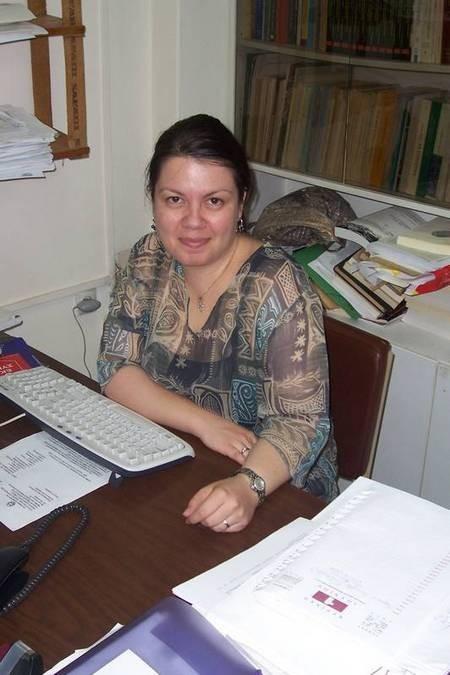Natasha, personal assistant to Professor George Leontsinis