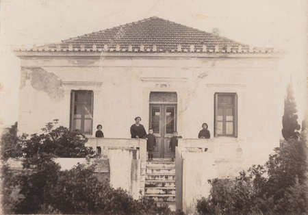 Lianos family home on Kythera, built by my grandfather, George Lianos