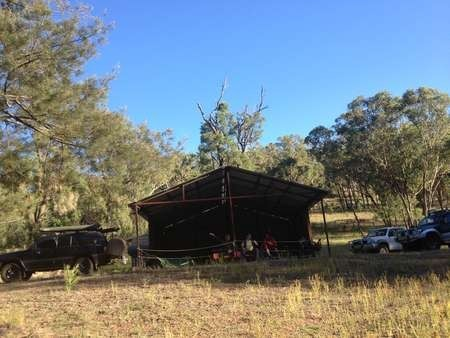 Campsite at Boxwood, a property owned by Ozzy