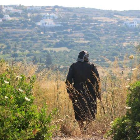 Walking the fields