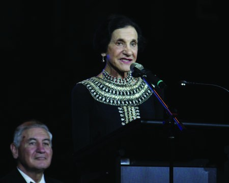 The Governor of NSW her Excellency Marie Bashir AC CVO, speaking