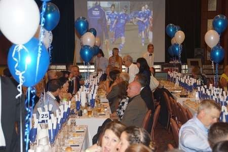 Celebrations at the 40th anniversary celebrations Albury City Soccer Club