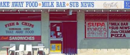 The Milk Bar by Eamon Donnelly. - image