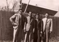 Tzannes brothers in Armidale NSW,  c1945
