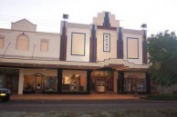 Roxy Theatre, Bingara, NSW, Australia - the frontage.
