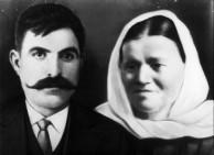 Yeoryi Dimitri Tzortzopoulos (1872?-1918), and Olympia Tzortzopoulos (nee, Tzortzopoulos), (? - 1960), Karavas, Kythera.