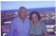 Mr and Mrs Nicholas Andronicos, Sydney, 1996.