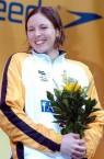 Sarah Katsoulis. Australian swimmer.