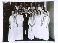 An A.H.E.P.A. function at the Delphic, Melbourne, 14/7/1958.