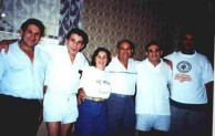 Tzortzopoulos - children of Dimitri George Tzortzopoulos, with their sole surviving uncle, Con George Tzortzopoulos.