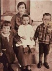 Yeorgia Koroneos (nee, Mentis), with her three eldest children.