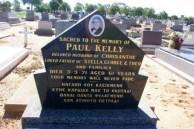 Paul Kelly. Gravestone. Gilgandra Cemetery.