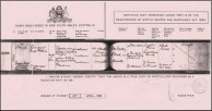 Death Certificate of Emmanuel Kritharis.